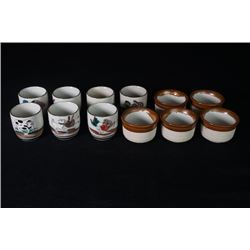 A Group of 12 Tea Cups.