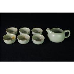 A Group of 7-piece Tea Sets.