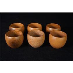A Group of Six Tea Cups.