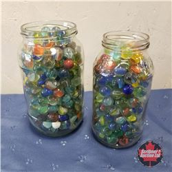 Jars of Marbles (2)