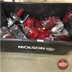 Molson Beer Tub with Contents (Large Variety of Tail Light Lenses & Bezels)