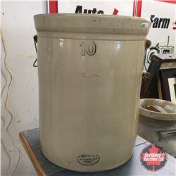 10 Gallon Medalta Crock w/Handles