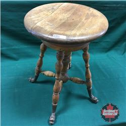 Piano Stool (Dragon Claw Foot)
