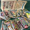Large Variety of Comic Books