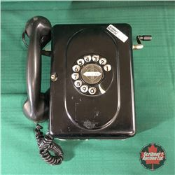 Monophone Rotary Tin Wall Phone