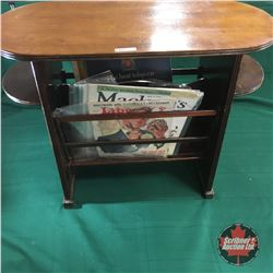 Magazine Stand with variety Magazines (Liberty, McLeans, etc)