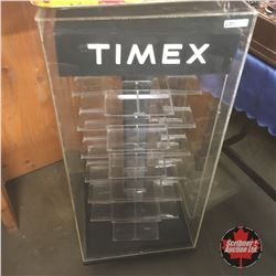 """Timex Counter Top Store Display (Needs some TLC)  (36""""H x 16""""W x 16""""D)"""