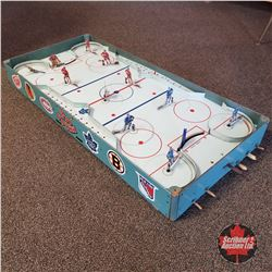 "Vintage ""Pro Hockey"" Rod Hockey Game ( Canadiens vs Leafs )"