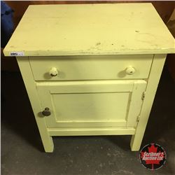 Yellow Painted Night Stand