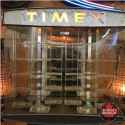 "Timex Revolving Light Up Store Display (28""H x 26 ""W x 15 ""D)"