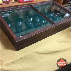 """Table Top Display Case (8""""H x 42""""W x 24""""D)"""