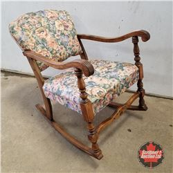Rocking Chair 1970 (Floral)