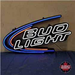 """Sign: Bud Light LED    (16""""H x 30""""W)"""