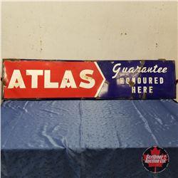 """Sign: ATLAS Guarantee (17""""H x 72""""W)"""