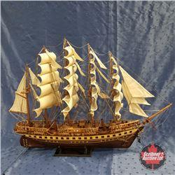 "Model Ship: ""France II""  (28"" H)"