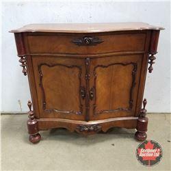 "Butler Cabinet 1950   (40""H x 44""W x 19""D)"