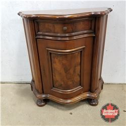 """Curved Front Cabinet 1950   (36""""H x 34""""W x 17""""D)"""