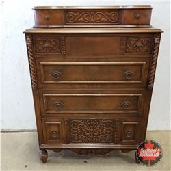 5 Drawer Sideboard / Chest of Drawers 1960  (52 H x 36 W x 19 D)