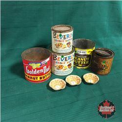 Peanut Butter Tins (5)