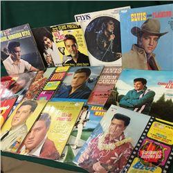 Elvis Presley Albums (13) & Ephemera