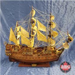 """San Pelipe"" Model Ship (33""H)"