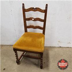 Chair : Barley Twist Front Legs  1930