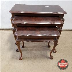 Chippendale Nesting Tables