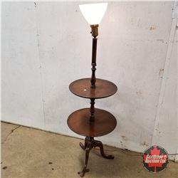 Floor Lamp/Butler 2 Tier Service