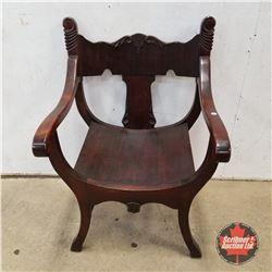Italian Renaissance Parlour Chair 1960