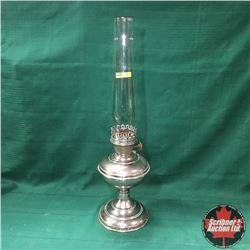 Aladdin Lamp with Chimney - Chrome Base - Model 6 Burner