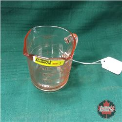 Kellogg's Depression Glass (Pink) Measure Cup