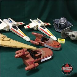 STAR WARS Vintage Collectibles: Space Ship Toys - Variety (7)