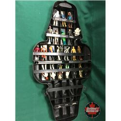 STAR WARS The Empire Strikes Back Darth Vader Collector Case with 22 Small Figurines (Includes: R2D2