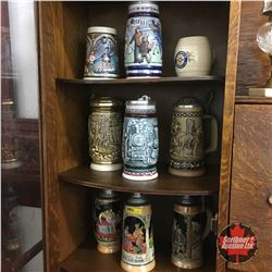 Beer Stein Collection (9)