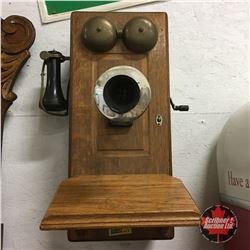 Northern Electric Box Telephone