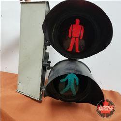 "Cross Walk Light 1960  (21""H x 12""W x 17""D)"