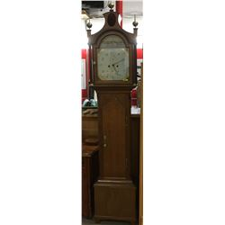 "Northgraves Hull Grandfather Clock (c. 1880's)   (90""H x 18""W x 10""D)"