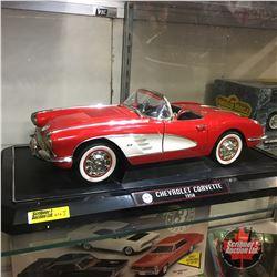 1958 Chevrolet Corvette 1/12th Scale Die Cast