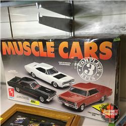 Muscle Cars (Models) in Box (Ready to Build!)