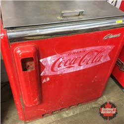 Glasco  Drink Coca-Cola  Starlet Cooler Chest    (41 H x 37 W x 18 D)