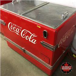 """Drink Coca-Cola"" Cooler Chest (Calvinator)   (36""H x 42""W x 26""D)"
