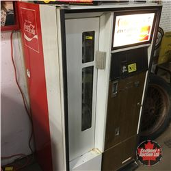 """Coke Adds Life to Everything Nice"" - Cavalier 64 Vending Machine  (56""H x 28""W x 23""D)"