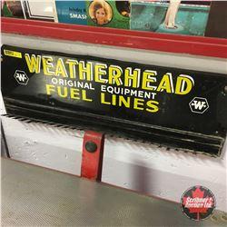 """Weatherhead Original Equipment Fuel Lines"" Store Display   8"" x 22"""