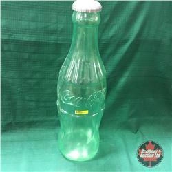 "Plastic Coke Bottle Bank  24"""