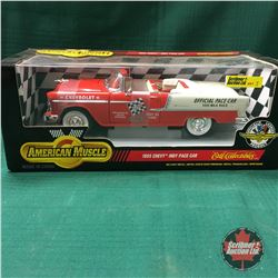 1955 Chevy Indy Pace Car Die Cast 1/18 Scale