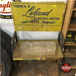 """Leland Electric Motor"" Store Display Rack   42""H x 24""W x 14""D"