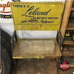 Leland Electric Motor  Store Display Rack   42 H x 24 W x 14 D
