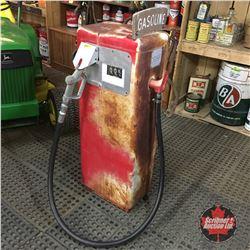 """Gas Pump """"Bennett""""    (44""""H x 10""""W x 15""""D)"""