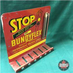 """BundyFlex"" Hydraulic Brake Lines Store Display  (11""H x 12""W x 4""D)"