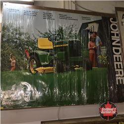 "John Deere 110 Advertising Poster (48"" x 38"")"